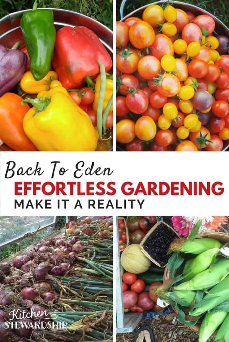 Make Effortless Gardening A Reality