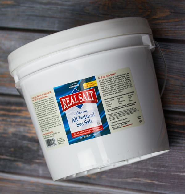 Think you can use more than 10 lbs. of Redmond Real Salt in a year? We do! I bet you could too.