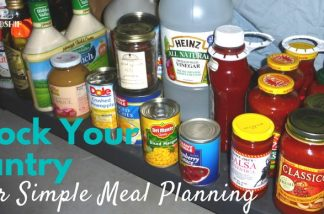 Stocking Your Pantry for Simple Meal Planning