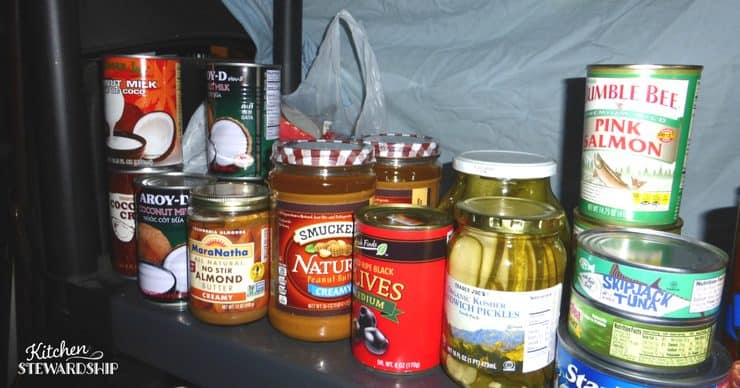 Tips for stocking a pantry - make food planning simple!