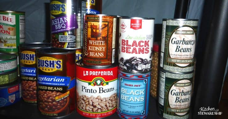 Tips for organizing the pantry-make meal planning simple!