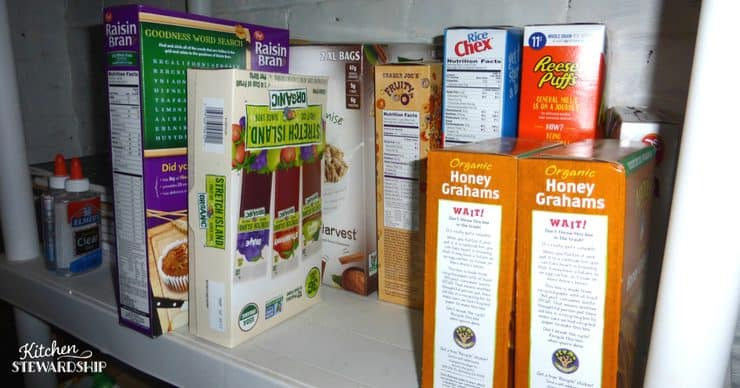 Keeping a stocked pantry can help with meal planning