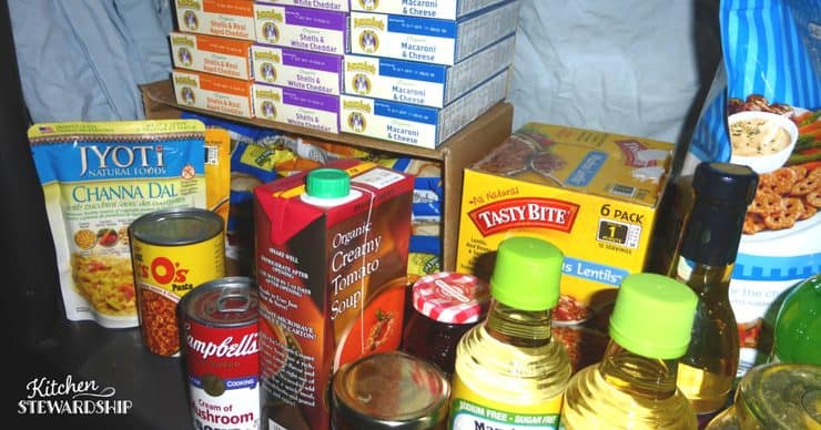 Tips for keeping your pantry stocked for easy meal planning