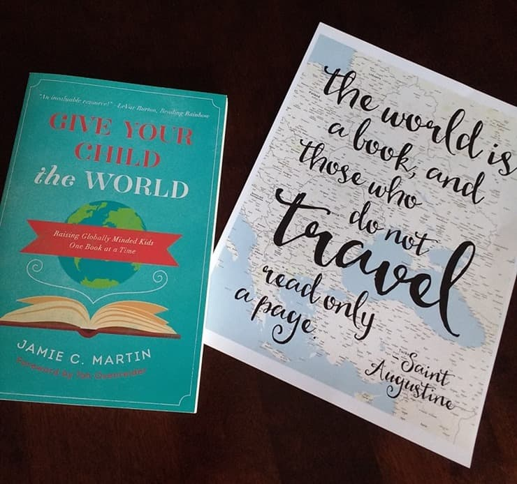 received Give Your Child the World in the mail