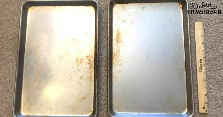Gluten free kitchen rules - Cross contamination in bakeware