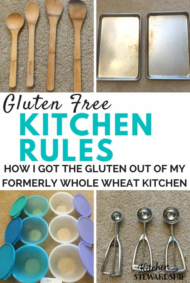 How I Got The Gluten Out Of My Formerly Whole Wheat Kitchen