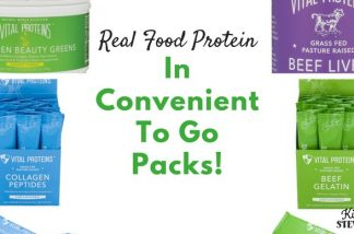 Real Food Protein in Convenient To Go Packs! {Giveaway – Closed}