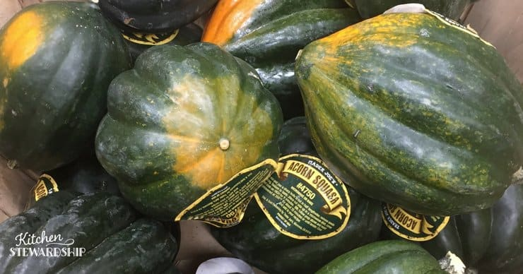 Acorn Squash - what do I do with fall squash?