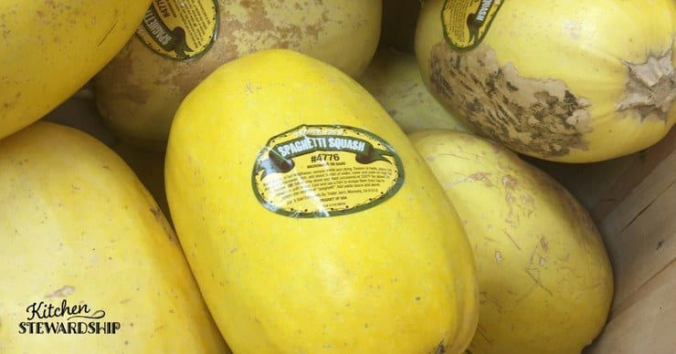 Spaghetti Squash - how to use all those winter squash