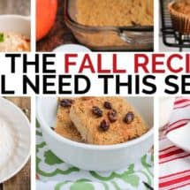All the Fall Recipes You'll Need This Season