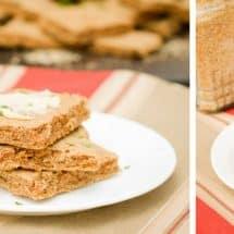 Gluten-Free Flatbread in 7 Minutes (no flour needed!)