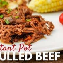 Instant Pot Beef BBQ Recipe