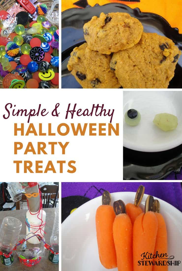 simple healthy halloween party food