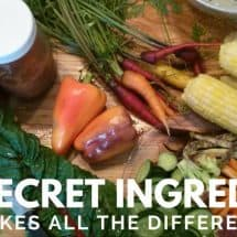 The Secret Ingredient – Preparing Food with Love Really Makes a Difference
