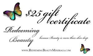 Win prizes valued over $600!!! - Redeeming Beauty is part of the giveaway!