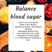 Balance Your Blood Sugar to Balance Your Hormones {Women's Wellness GUEST Series}