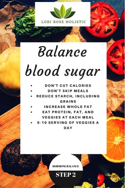Balance Blood Sugar