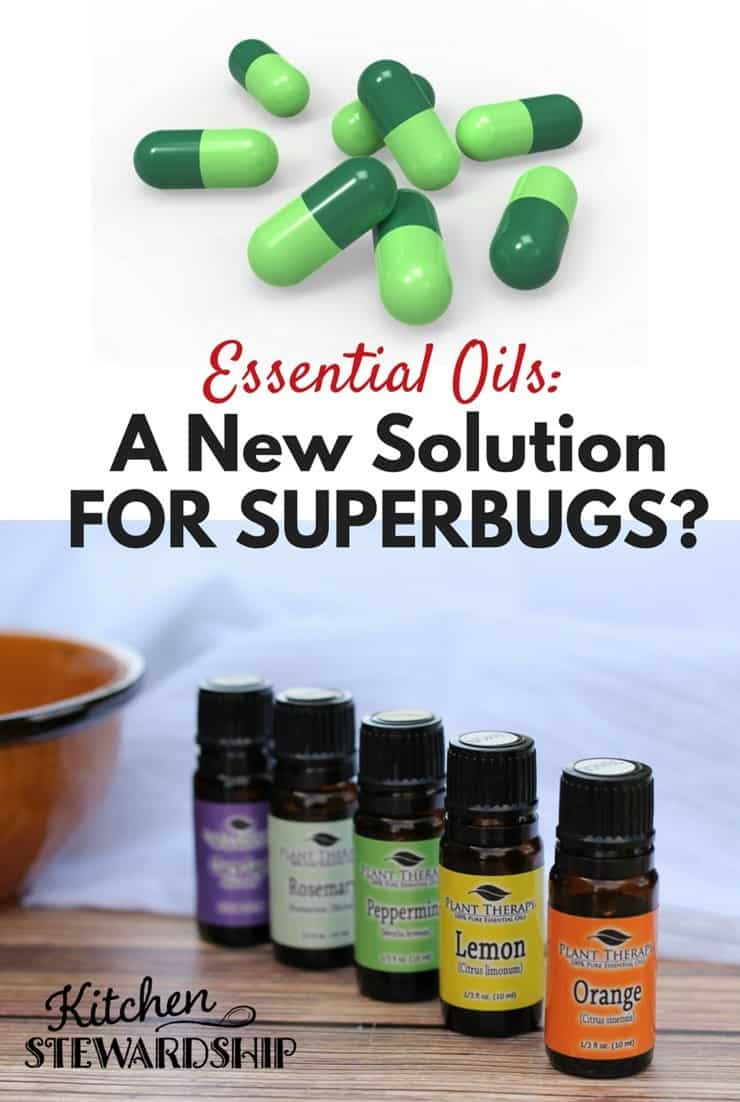 Essential Oils may help in the fight against superbug bacteria - they have potential to rival antibiotics