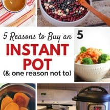 Why Bother with an Instant Pot? (Pros and Cons)