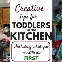 Do This FIRST With Your Little Ones in the Kitchen