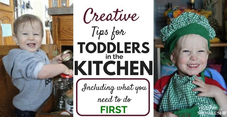 what toddlers can do in the kitchen