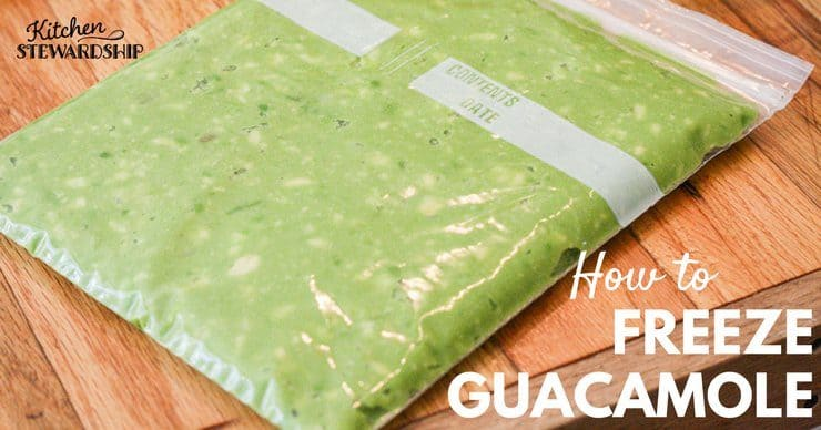 How to Freeze Guacamole and Save Money