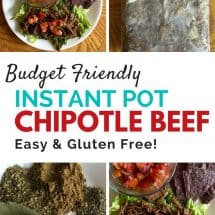 {Allergy Friendly!} Instant Pot or Slow Cooker Chipotle-Style Beef Barbacoa Recipe