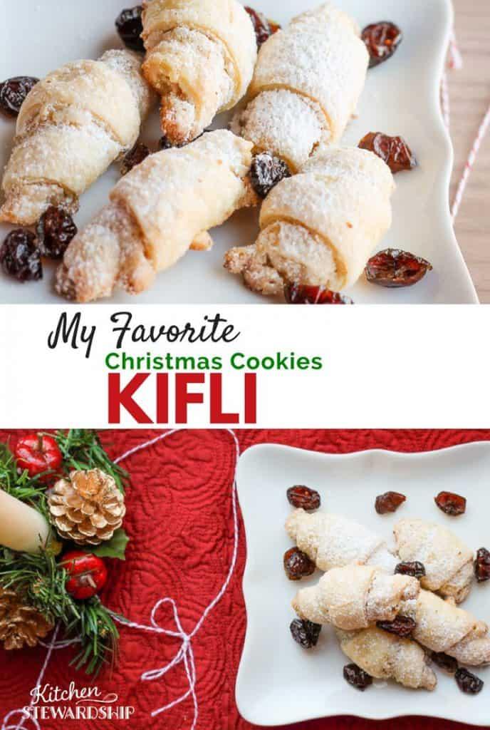My Favorite Christmas Cookie Ever: Kifli