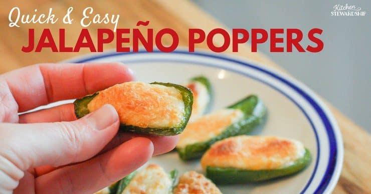Quick and Easy Jalapeño Popper Recipe