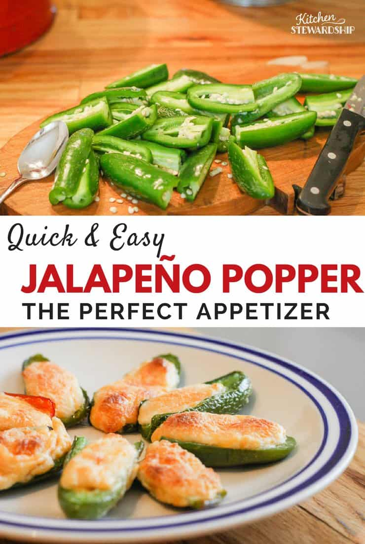 Quick Easy Jalapeno poppers