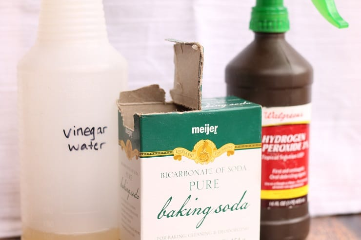 Detox your Liver with Natural Cleaners - Vinegar Water, Baking Soda, and Hydrogen Peroxide Water