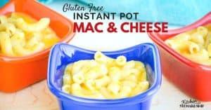 Gluten Free Instant Pot Mac & Cheese Recipe