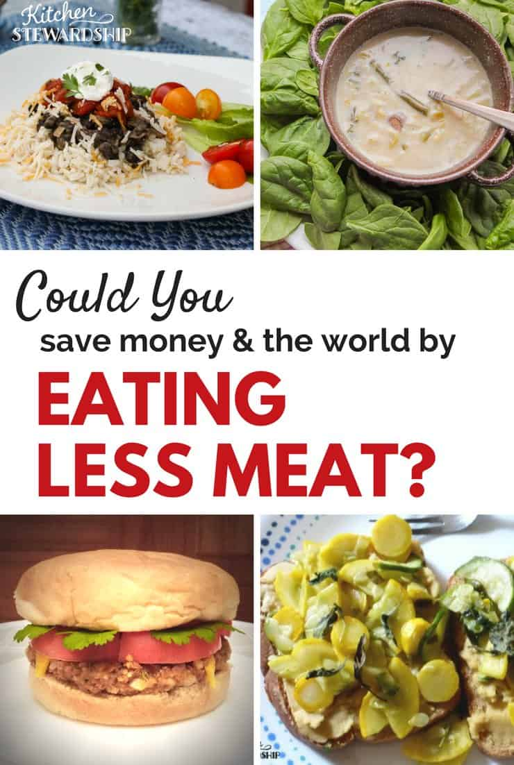 Less meat diet