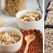 How Making MORE Healthy Snacks from Scratch Saves me Time {Homemade Granola Recipe}