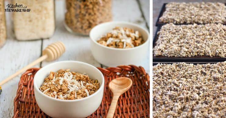 Crunchy Coconut Granola - Soaked Traditional Recipe