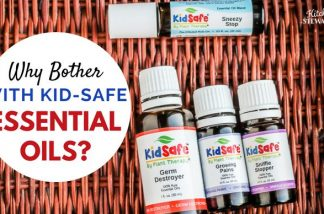 Your Guide to Using Safe Essential Oils for Kids {VIDEO}