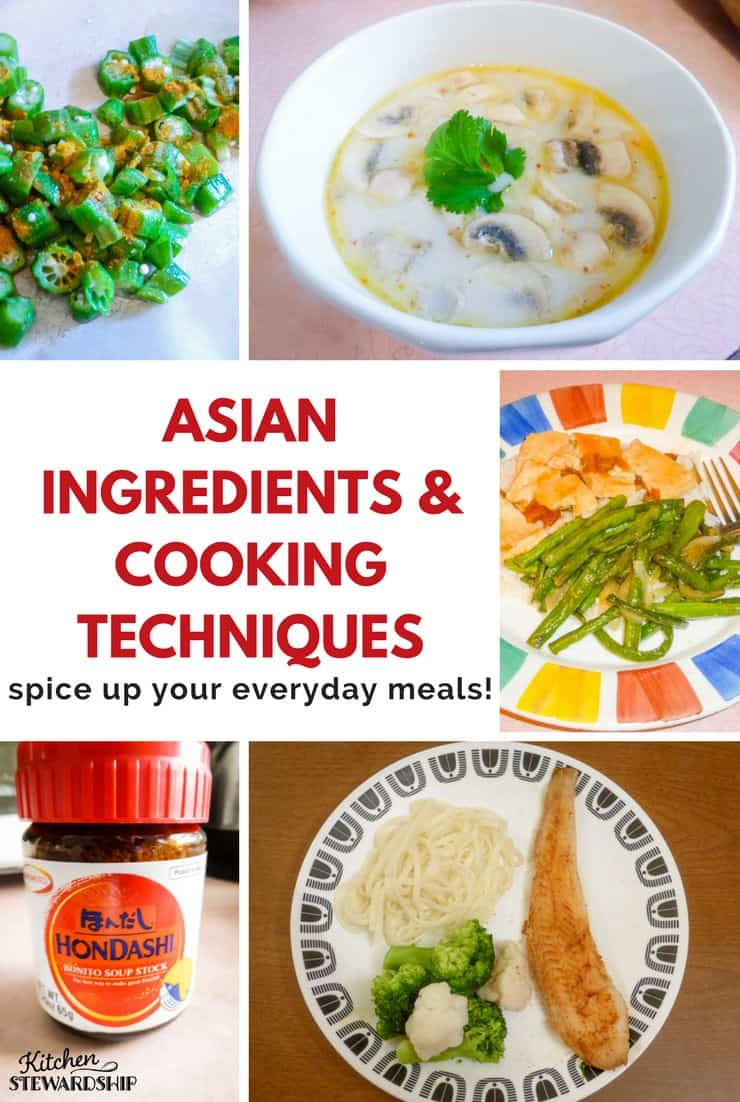 Asian ingredients and cooking techniques to spice up your for Asian cuisine ingredients