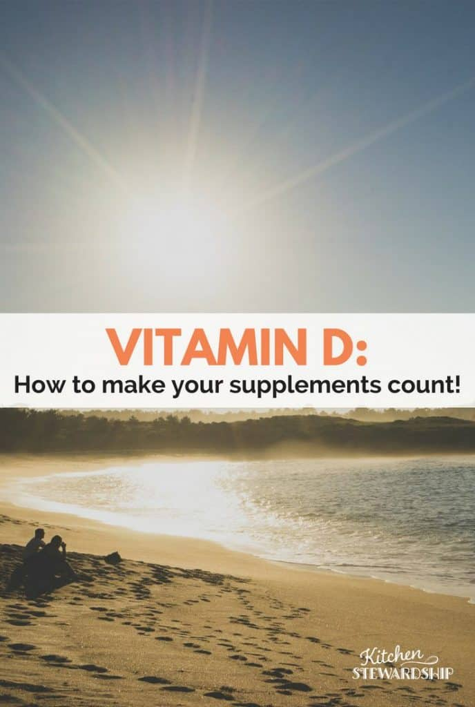 You might be wasting your money on Vitamin D supplements if you don't balance it with Vitamins A, K and magnesium! Find out more here...