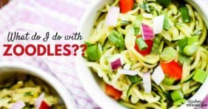 What do you do with Zoodles?