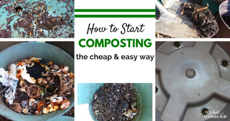 How to guide for an affordable and easy way to start composting. Minimal maintenance with great results! Start today and save money and the Earth.