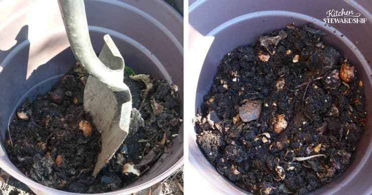 Composting - tips for getting started and maintaining a bin easily. Get started today!
