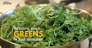 DIY Greens Powder and the Easiest Way to Preserve Your Greens