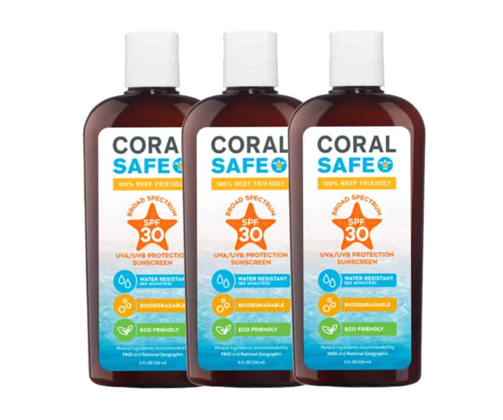 3-pack of Mexitan Tropical Sands reef safe mineral sunscreen