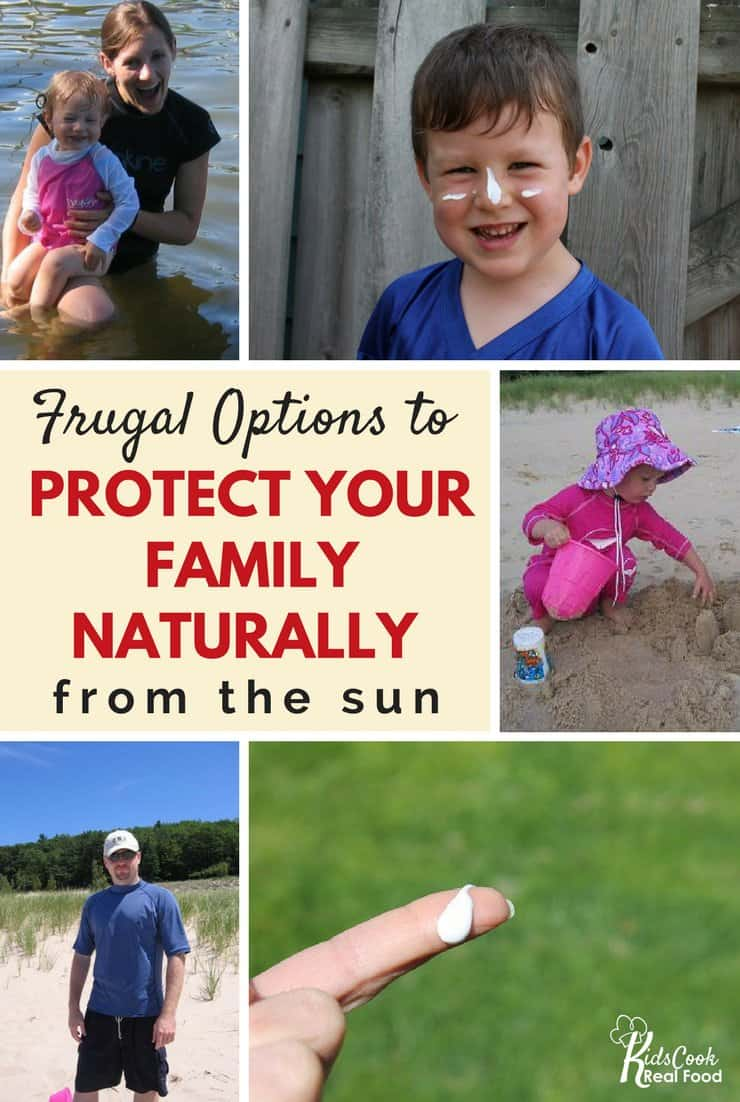 frugal options for sunscreen
