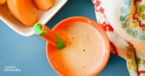 Peach Cobbler Smoothie Recipe for Picky Eaters