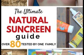 Natural Sunscreen Review: Over 80 Mineral Sunscreens Tested by One Family!
