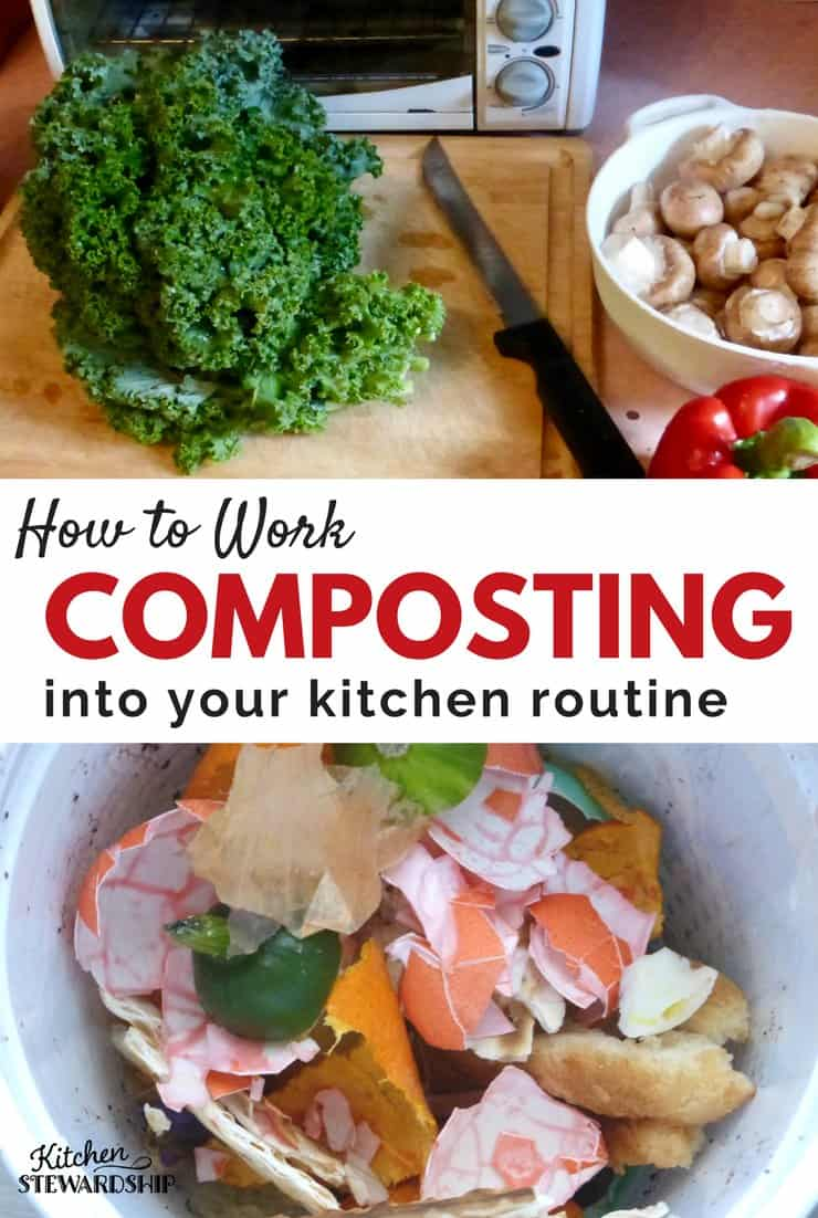 How to Work Composting Into Your Kitchen Routine