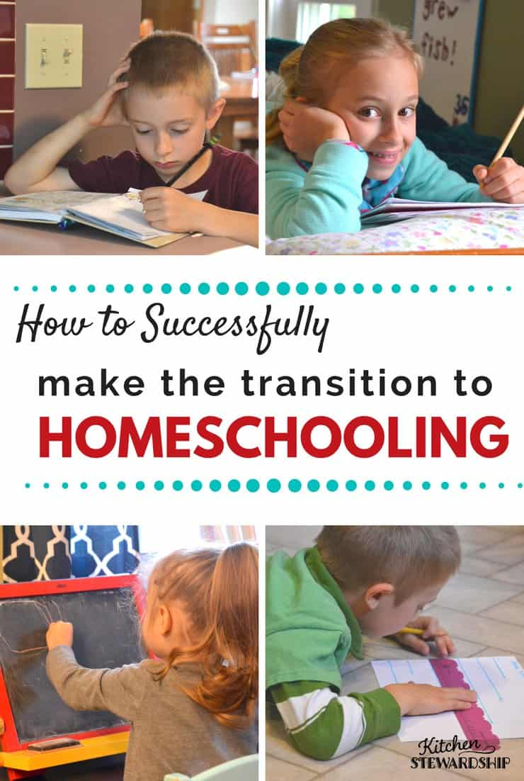 How this family went from traditional schooling to home schooling and how you can too! Why it might be right for your kids and what to expect.