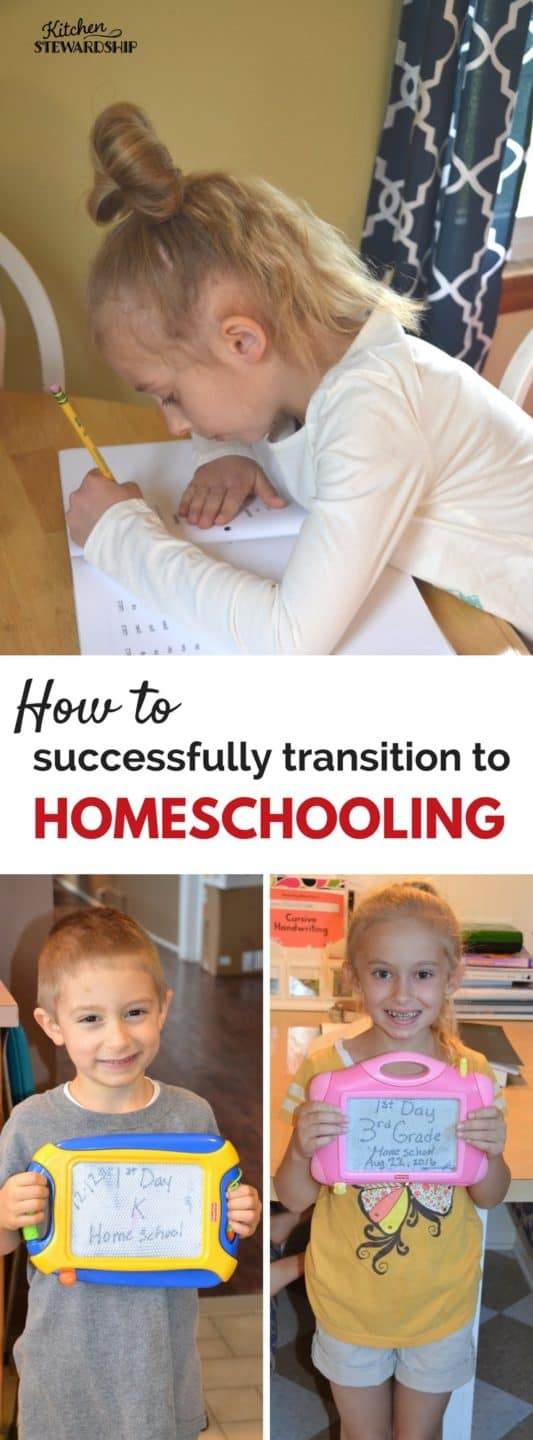 Advice on how to transition to homeschooling from a fellow mom turned homeschooler. The advice you need from getting started to what worked and didn't work.