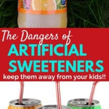 The Dangers of Artificial Sweeteners — Are They Safe for Kids?